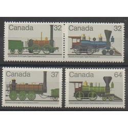 Canada - 1983 - Nb 857/860 - Trains