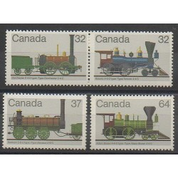 Canada - 1983 - No 857/860 - Trains