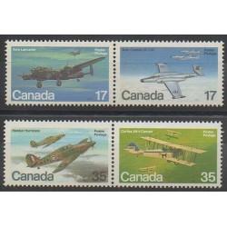 Canada - 1980 - No 752/755 - Avions