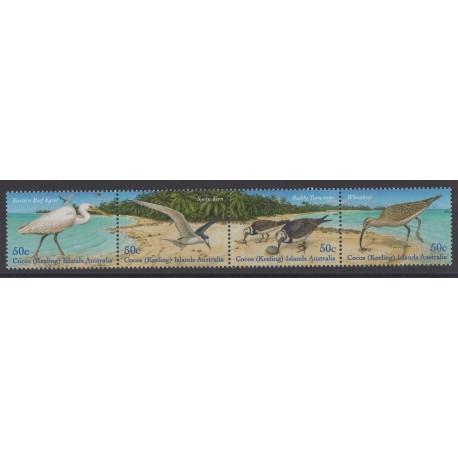 Cocos (Iles) - 2003 - No 393/396 - Oiseaux