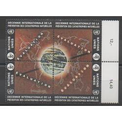 Nations Unies (ONU - Genève) - 1994 - No 270/273 - Environnement