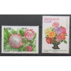 Monaco - 2014 - Nb 2934/2935 - Roses