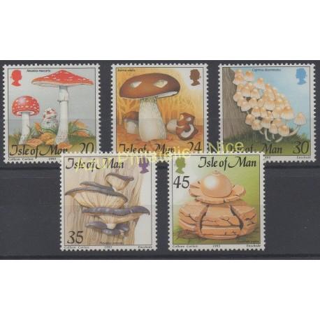 Man (Ile de) - 1995 - No 688/692 - Champignons
