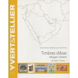 Timbres d'Asie - Moyen Orient de Aden à Yémen (Edition 2015)