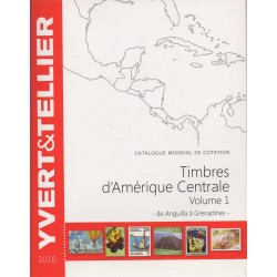 Timbres d'Amérique centrale de Anguilla à Grenadines (Edition 2016)