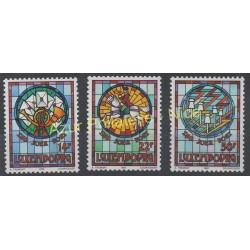 Luxembourg - 1992 - Nb 1252/1254 - Art