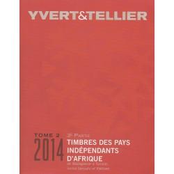 Timbres des pays indépendants d'Afrique de Madagascar à Tunisie (Edition 2014)