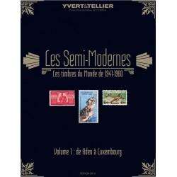 Les semi-modernes du monde : Volume 1 de Aden à Luxembourg