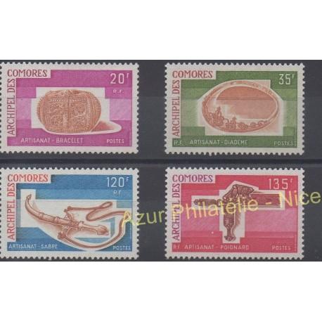 Comoros - 1975 - Nb 97/100 - Art