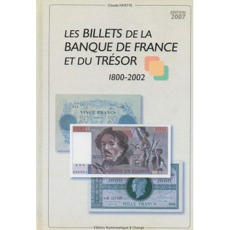 Les billets de la Banque de France et du Trésor