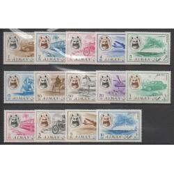 Ajman - 1967 - No 74 (9 val) PA 74 (4 val) - Transports