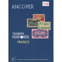 Timbres perforés de France (Ancoper 4ème édition)