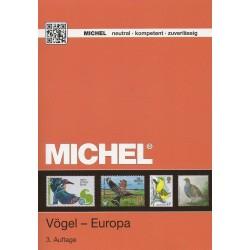 """Timbres thématique """"Oiseaux"""" Europe (3ème édition 2014)"""
