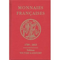 Monnaies françaises (Gadoury 2015)