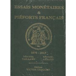 Essais monétaires et Piéforts français (Gadoury 2014)