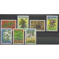 Congo (République du) - 1991 - No 896/902 - Flore