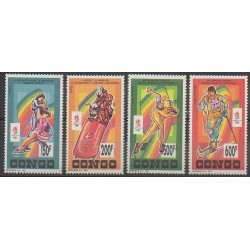 Congo (Republic of) - 1992 - Nb 962A/962B - PA413/PA414 - Winter Olympics