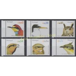 Portugal - 2002 - No 2549/2554 - Oiseaux - Rapaces