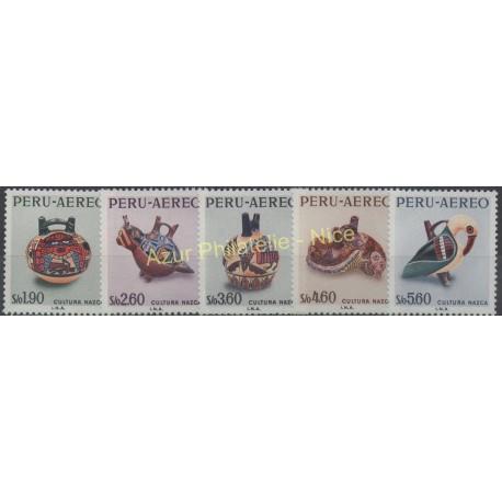 Peru - 1968 - Nb A219/A223 - Art