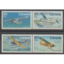 Canada - 1982 - Nb 814/817 - Planes