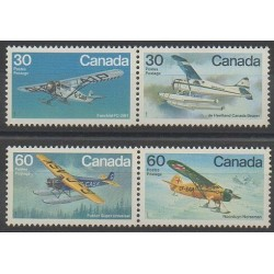 Canada - 1982 - No 814/817 - Aviation