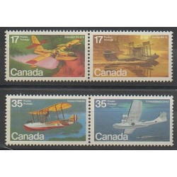 Canada - 1979 - No 721/724 - Aviation