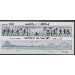 Wallis et Futuna - Blocs et feuillets - 1992 - No BF6 - Sites