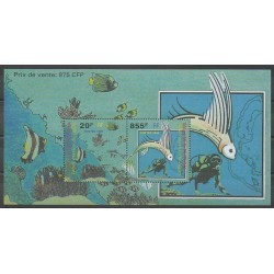 Wallis and Futuna - Blocks and sheets - 1999 - Nb BF8 - Sea animals
