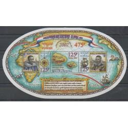 Wallis et Futuna - Blocs et feuillets - 2002 - No BF11 - Navigation