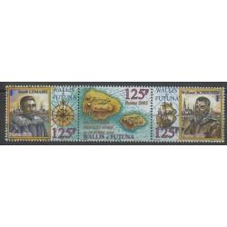 Wallis and Futuna - 2002 - Nb 575/577 - Boats