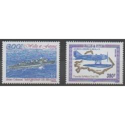 Wallis and Futuna - 2004 - Nb 622/623 - Planes - Boats