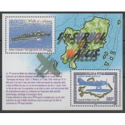 Wallis and Futuna - Blocks and sheets - 2004 - Nb BF15 - Planes - Boats