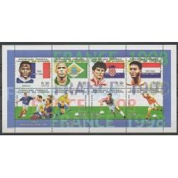 Comores - 1998 - No 739/746 - Coupe du monde de football