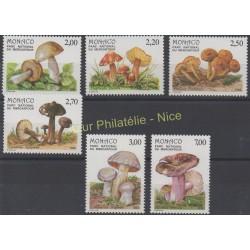 Monaco - 1988 - No 1628/1633 - Champignons