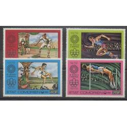 Comores - 1976 - No 150/153 - Jeux Olympiques d'été