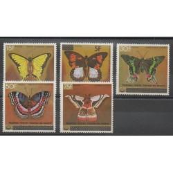 Comores - 1979 - No 260/264 - Insectes