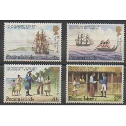 Pitcairn - 1983 - Nb 223/226 - Boats