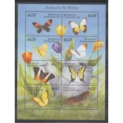 Centrafricaine (République) - 1999 - No 1618DG/1818DP - Insectes