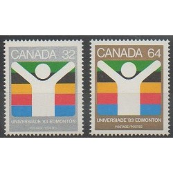 Canada - 1983 - Nb 849/850 - Various sports