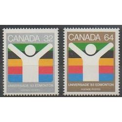 Canada - 1983 - No 849/850 - Sports divers