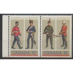Canada - 1983 - No 865/866 - Costumes Uniformes