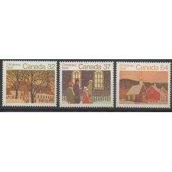 Canada - 1983 - No 862/864 - Noël