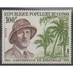 Congo (République du) - 1974 - No 355 - De Gaulle