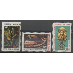 Congo (République du) - 1966 - No 183/185 - Art