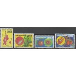 Congo (Republic of) - 1985 - Nb 751/754 - Fruits