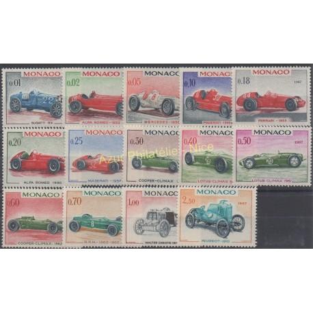 Monaco - 1967 - Nb 708/721