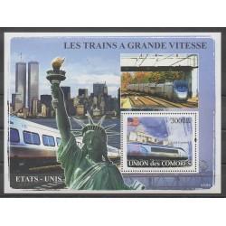 Comores - 2008 - No BF115 - Chemins de fer