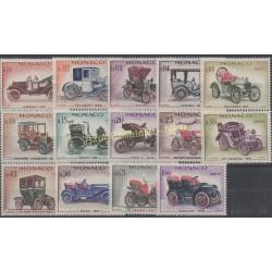 Monaco - 1961 - Nb 557/570