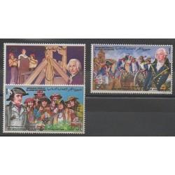 Comores - 1989 - No 506A/506C - Révolution Française