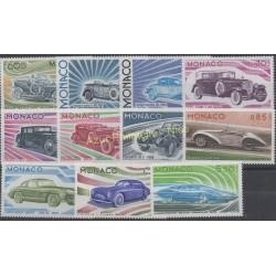 Monaco - 1975 - Nb 1018/1028